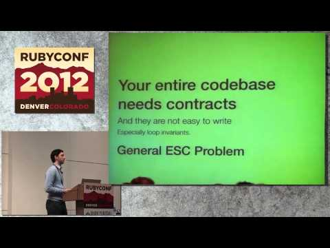 Ruby Conf 12 - Could a Machine ever write tests for our code by Loren Segal