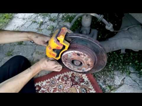 Задние дисковые тормоза на ланос от опеля
