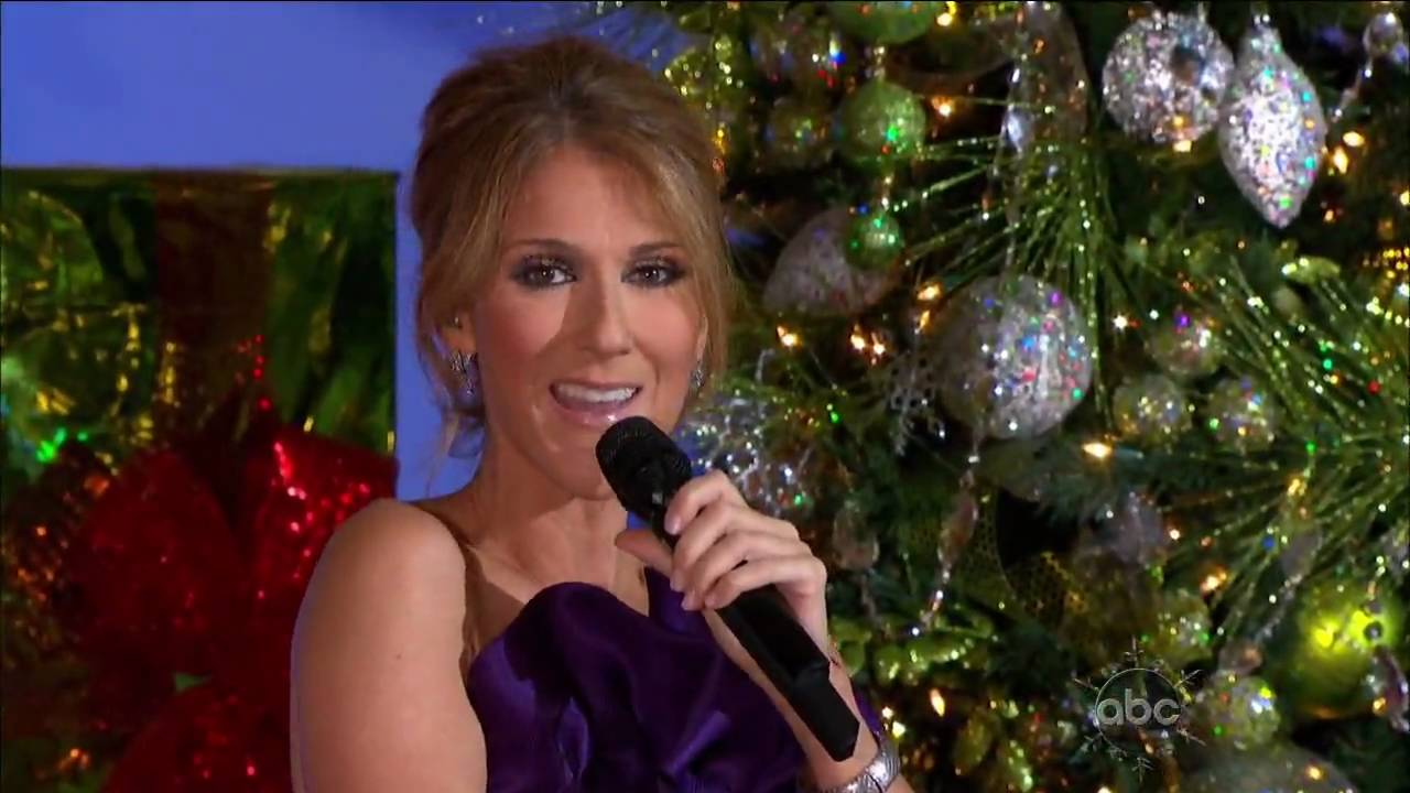 Celine Dion - Don't Save It All For Christmas Day (Disney Parks Christmas Day Parade) HD - YouTube
