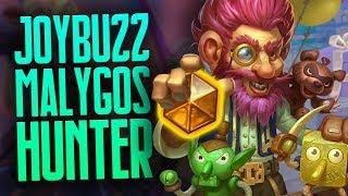 Joybuzz Malygos Hunter Actually Works?! | Rise of Shadows | Hearthstone