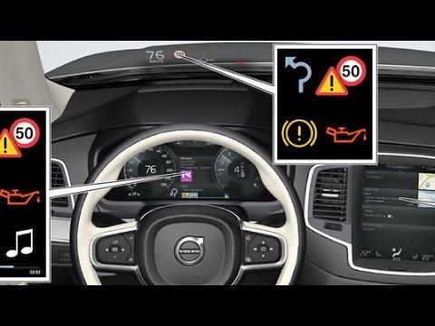 2015 Volvo XC90 - Head-up-display / Driver display / Centre display