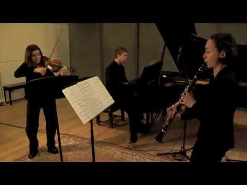 "Bartok ""Contrasts"" 1st movement (Ensemble Matisse)"