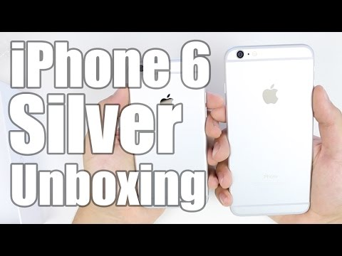 iPhone 6 Unboxing (Silver)