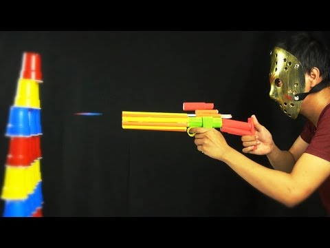 Awesome! - DIY Paper Gun Toy with Jason