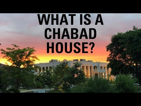 What Is A Chabad House? | Rabbi Moishe New at MTC Ribbon Cutting Ceremony