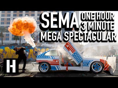 The SEMA One Hour Mega Spectacular
