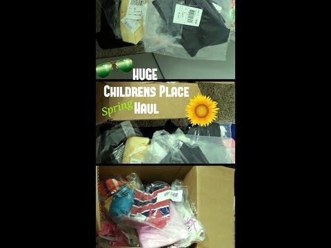 🌻HUGE !!¡¡🐝 Children's Place Haul