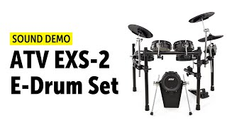 ATV | EXS-2 E-Drumset | Sound Demo