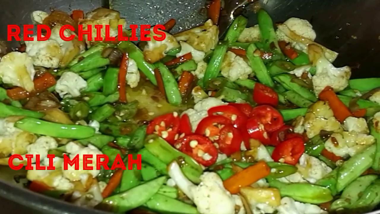 Fried Mixed Vegetable Sayur Campur Goreng By Linda Hussin