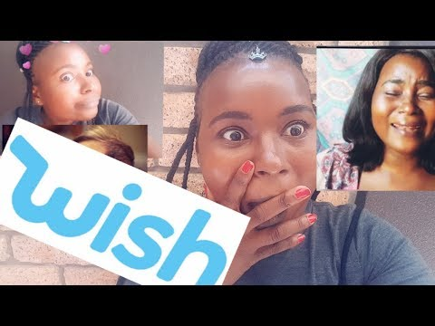 I GOT SCAMMED   WISH APP   SOUTH AFRICAN YOURUBER