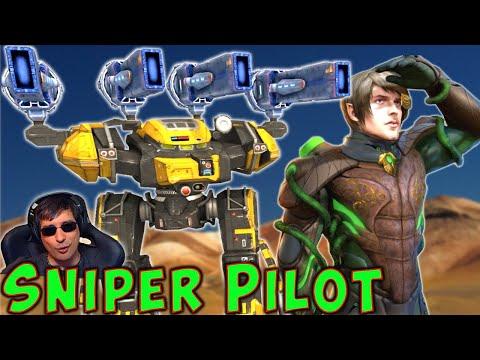 New Legendary Sniper Pilot FLUX BEHEMOTH War Robots Mk2 Live Gameplay WR