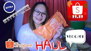Shopee Haul | 11.11