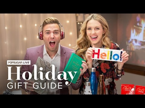 POPSUGAR's Live Holiday Holiday Gift Guide Show