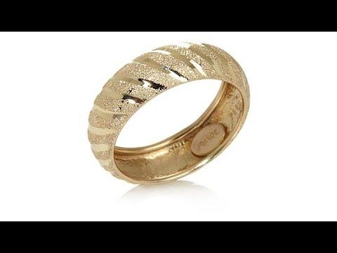 Michael Anthony Jewelry 10K DiamondCut 6mm Band Ring