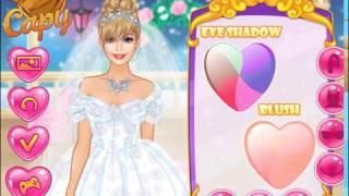 Мультик игра Одевалка: Зимняя свадьба Барби (Barbie Winter Wedding)