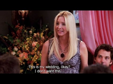 FRIENDS [HD] - Phoebe's Wedding Rehearsal indir