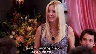 FRIENDS [HD] - Phoebe's Wedding Rehearsal