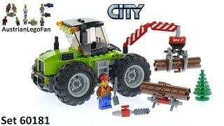 Lego City 60181 Forest Tractor - Lego Speed Build Review