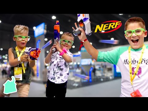 NERF FORTNITE BATTLE! 💥 Daily Bumps VS. Hobby Kids!