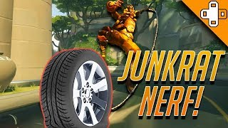 JUNKRAT RIPTIRE GOT NERFED?! - Overwatch Funny & Epic Moments 375
