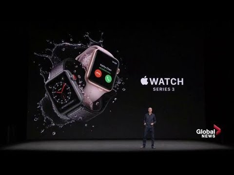Apple Watch Series 3 unveiled with cellular builtin