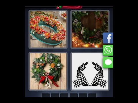 4 Pics 1 Word - Christmas - Daily Puzzle - 12/16/2018 - December