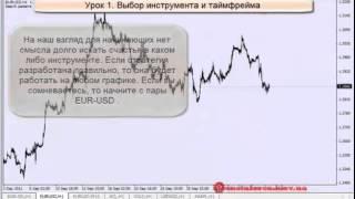 Форекс. Обучающее видео. Как создать свою торговую систему? Урок 1