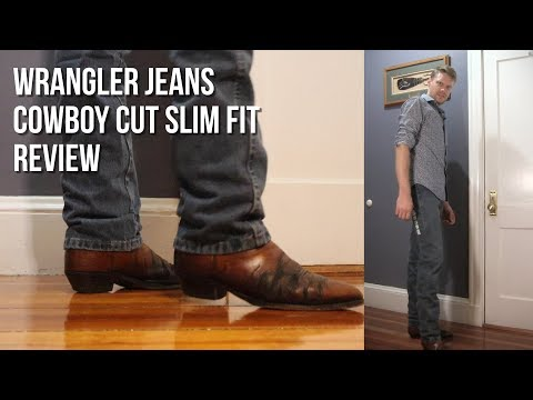 Wrangler Jeans Cowboy Cut Slim Fit Review With Cowboy Boots