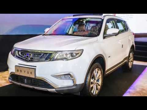 First Look Proton Suv To Be Based On Geely Boyue Youtube