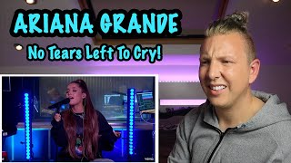 ARIANA GRANDE REACTION - No Tears Left To Cry in the Live Lounge