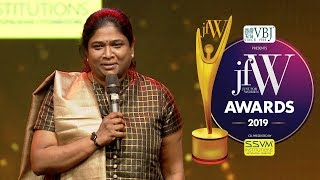 Fire Officer Meenakshi Vijayakumar - No happiness is greater than saving lives  | JFW Awards 2019