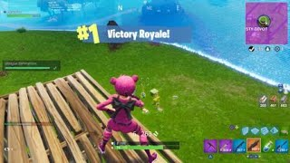 Fortnite INSANE BUILD BATTLE ~ GODLY - CONSOLE [Solo Win] 8 FRAGS