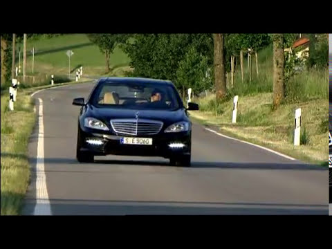 New Mercedes S63 AMG 5.5L V8 2011 Video Driving