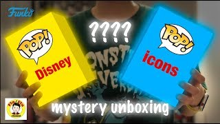 FlaFla Funko Pop Disney and Pop Icon unboxing