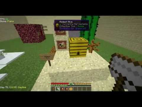 Tutorial Minecraft  Mod: Forestry & Extra Bees Parte 1/4