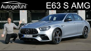 new Mercedes E63 S AMG FULL REVIEW 2021 Mercedes-AMG E63 S Facelift - Autogefühl