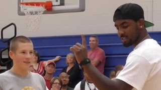 Kyrie Irving NBA vs. Kids Basketball Contest