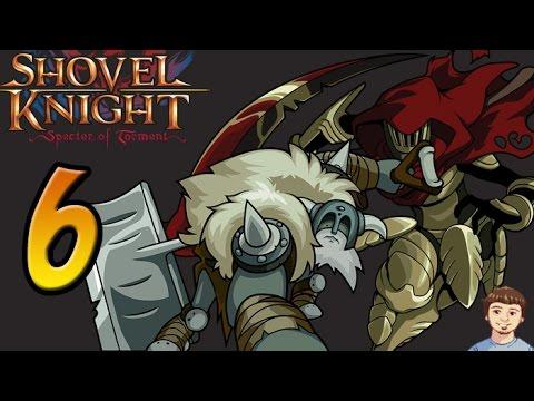 Shovel Knight Specter of Torment Walkthrough - PART 6 - Stranded Ship Polar Knight Boss Fight!
