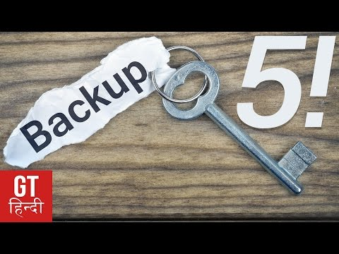 5 Best Android Backup And Restore Apps (Hindi - हिन्दी ) | GT Hindi