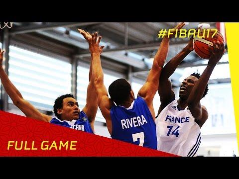 France v Dominican Republic - Full Game - 2016 FIBA U17 World Championship