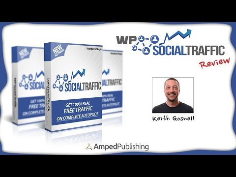 Automated Facebook Traffic - Wordpress Social Traffic Review. http://bit.ly/2zkG6bc