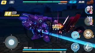 Honkai Impact 3, Red Lotus 49000 Abyss with Shadow Dash, Yamabuki and Chariot
