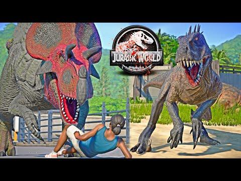 ULTIMASAURUS vs Scorpius REX E750, Godzilla, King Shark Dinosaurs Fight 🌍 JURASSIC WORLD EVOLUTION |