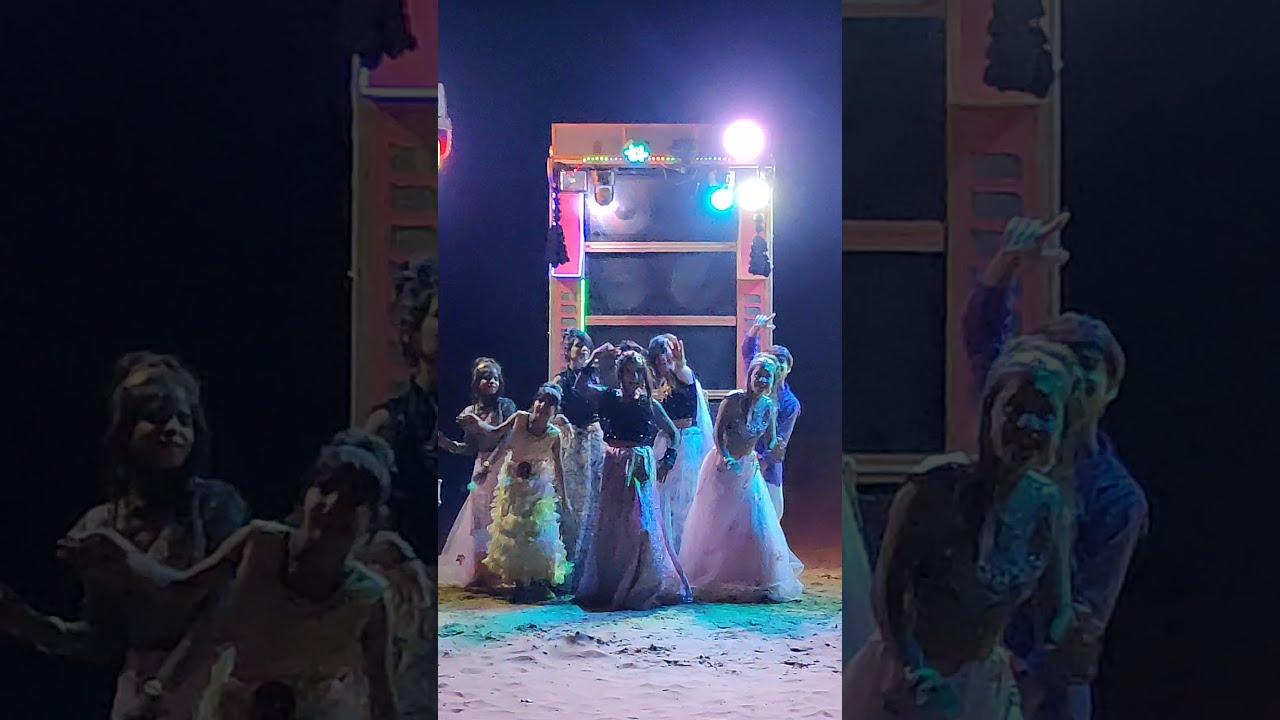 Dj Pe Nachungi 💃 Dj Girls Dance 😂  Ishu Payal Kunal | Mk Studio | Yt SHORTS