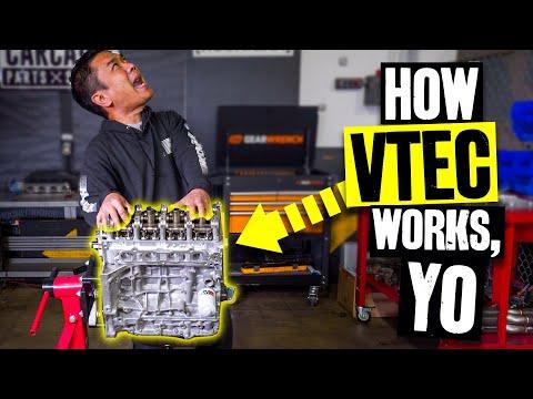What is VTEC?? Building our 10,000rpm Honda K24