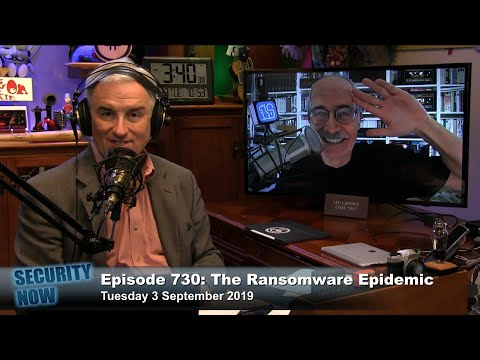 The Ransomware Epidemic - Security Now 730