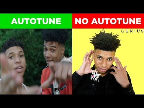 GENIUS S VS SONGS AUTOTUNE VS NO AUTOTUNE