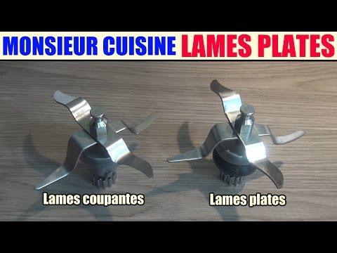 Lames Plates Monsieur Cuisine Lidl Silvercrest Skmh 1100 Youtube
