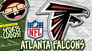 How to Draw ATLANTA FALCONS Logo (NFL National Football League) | Narrated Step-by-Step Tutorial