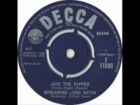 Jack the Ripper - Screaming Lord Sutch & The Savages - 1963